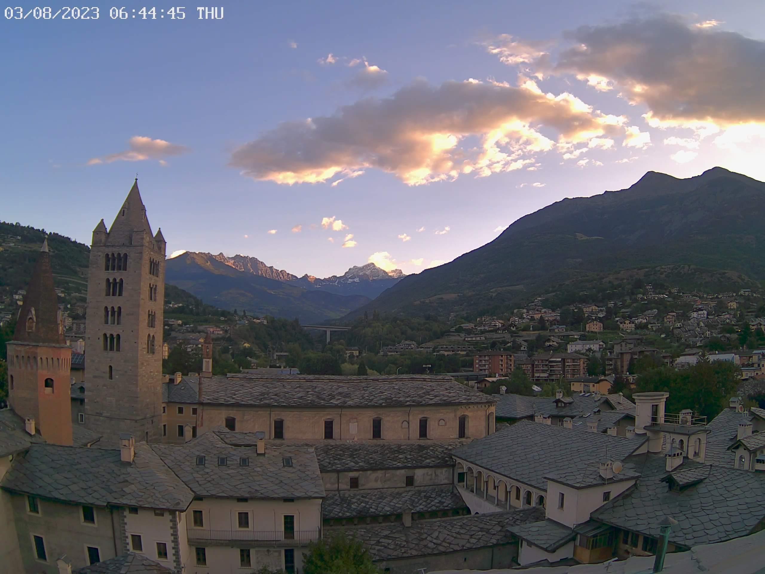 Webcam Aosta - FaureRagani.it